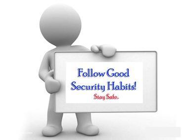 Good Security Habits