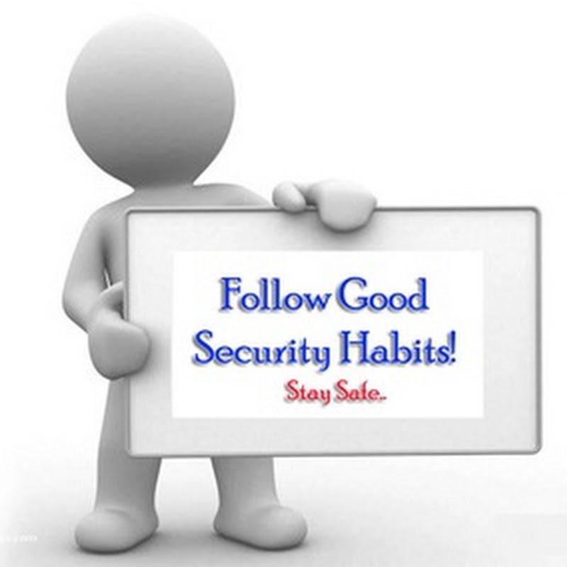 good online security habits