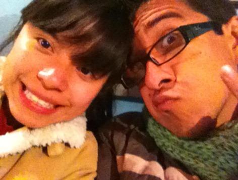 Gabriela y Óscar, Enero 2012