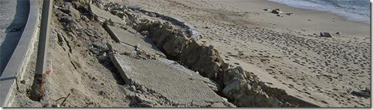 Paredão da Praia da Dona Amélia