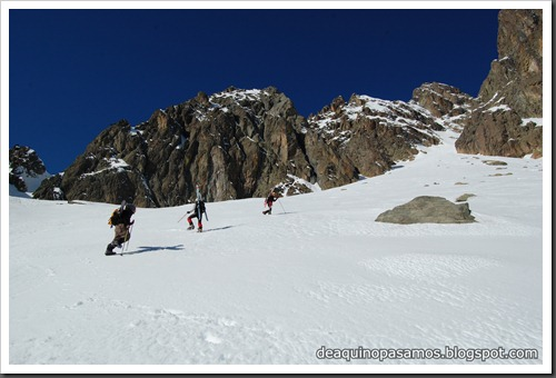 Circo Sur del Midi d'Ossau con esquis (Portalet, Pirineo Frances) (Fon) 090