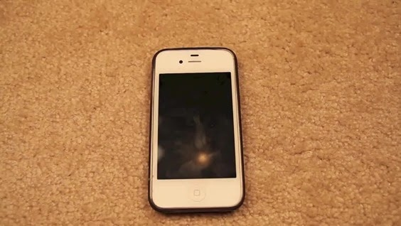 How to fix black and unresponsive  iPhone screen 001