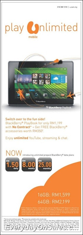 U-Mobile-Blackberry-2011-EverydayOnSales-Warehouse-Sale-Promotion-Deal-Discount