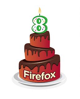 Mozilla Firefox compie 8 anni