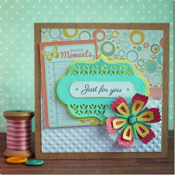 cafe creativo - big shot sizzix - card flower (1)
