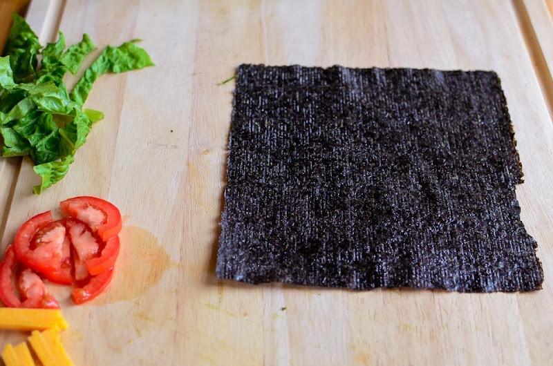 hummus BLT nori wrap-18338