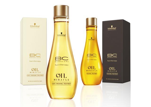 Lançamentos Schwarzkopf BC Oil Miracle