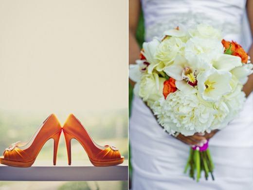 Casamento Moderno - Laranja e Pink (3)