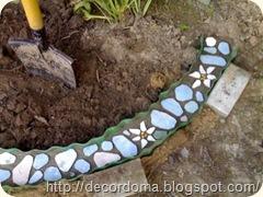 Остатки керамической плитки в декоре интерьера 2