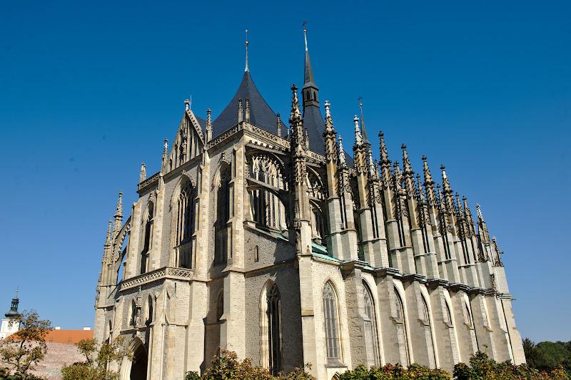 Cel mai reprezentativ exemplu al stilului gotic tarziu din cehia.