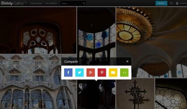 Alucinantes galerías de imágenes para Blogger
