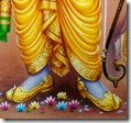 Rama's lotus feet