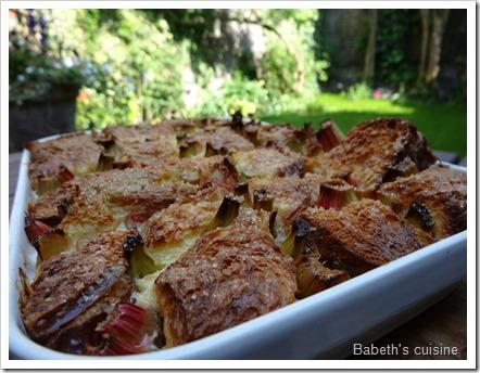 pudding brioche rhubarbe2