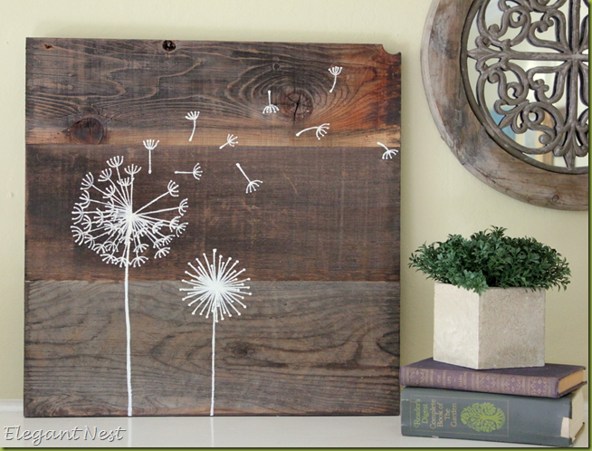 image - Elegant Nest: Reclaimed Wood Art…