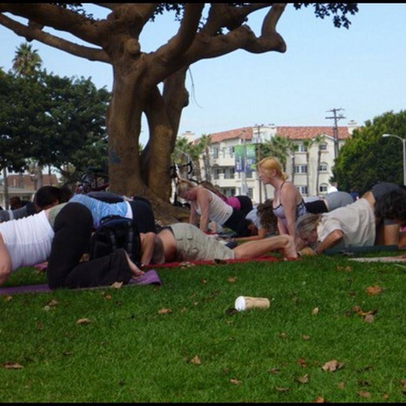 Long Beach – Yoga on the Bluff