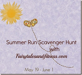 Scavenger hunt logo with date