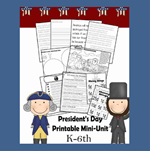 Presidents Day Unit for Elementary Kids