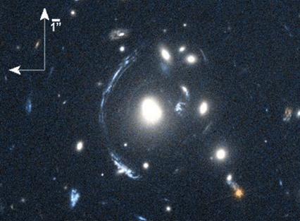 lente gravitacional da galáxia S0901