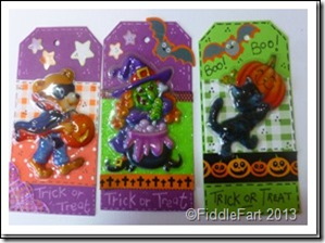 Halloween Trick or Treat Bags with tags. 3