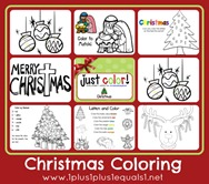 Just Color Christmas
