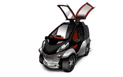 Toyota Smart Insect concept front three quarter