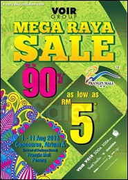 VOIR Group Mega Raya Sale Penang 2013 All Discounts Offer Shopping EverydayOnSales