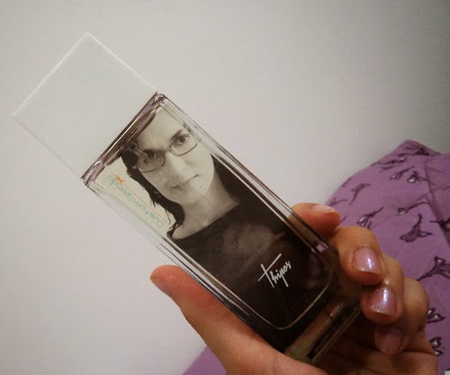 Perfume customizado com foto