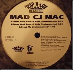 Mad CJ Mac – Come And Take A Ride