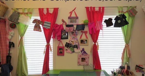Hello Kirsti Clothes Line Craft Room Display