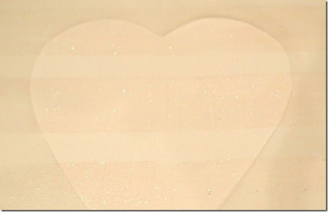 Valentine Canvas Contact Paper Stencil