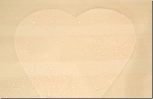 Valentine Canvas Contact Paper Stencil