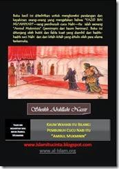 Kaum Wahabi itu bilang Yazid Amirulmukminin