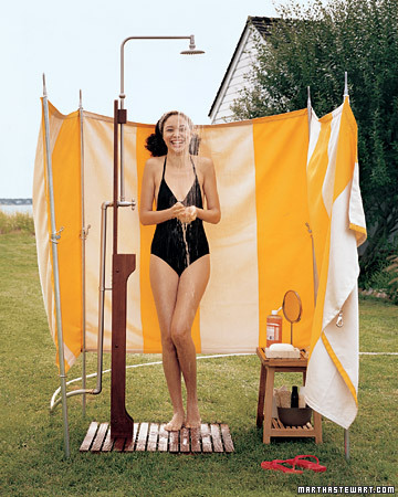 Check out a story we ran on how to create your own outdoor shower!
