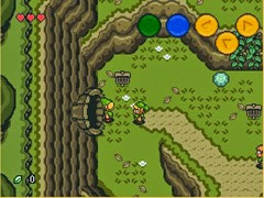 the legend of zelada ocarina of time 2d -