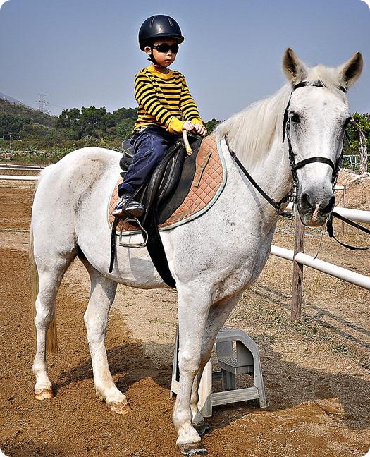 Josh-on-horseback