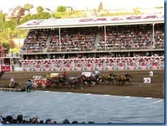 9567 Alberta Calgary Stampede 100th Anniversary - GMC Rangeland Derby & Grandstand Show - Chuckwagon Races