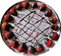 Erdbeer Mascapone Torte