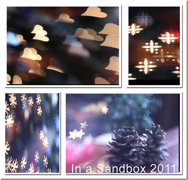 Lensbaby mosaic with bokeh