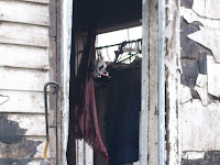 Clothes are still on the hangers at 3205 Spruce Avenue in Washington County