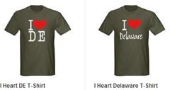 I heart DE Delaware