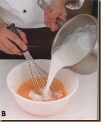 creme caramel b
