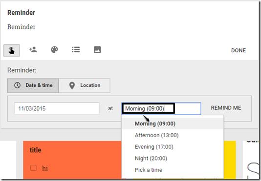 reminder-time-google-keep
