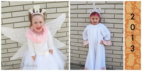 Halloween Handmade Tooth Fairy Costume DIY Unicorn Costume