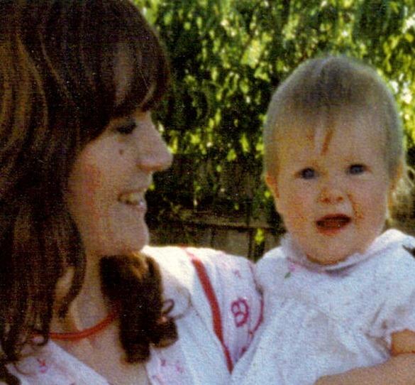 mum & me at mama's