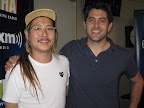Chef and owner of Mission Chinese Food, Danny Bowien, with Chef Shea Gallante