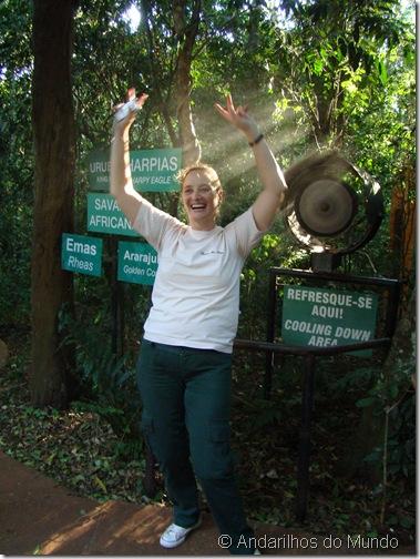 Refresque-se Aqui Parque das Aves Foz do Iguaçu BlogTurFoz