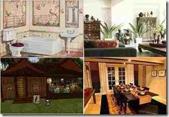 Desain Rumah Type Oriental