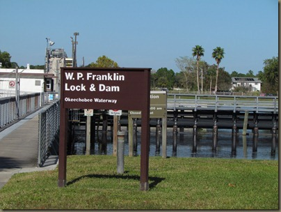 WP Franklin Lock and Dam