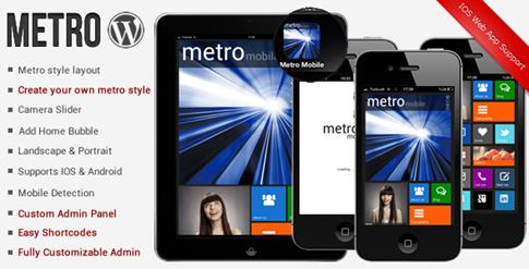 Tema Metro Premium para móviles