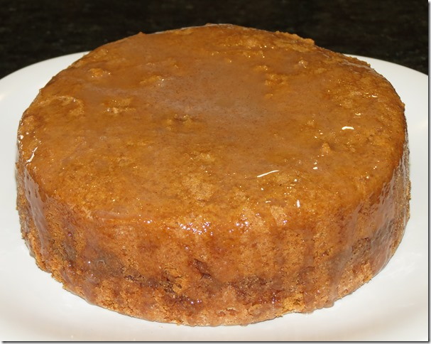 Sweet Potato Cake with Cinnamon Honey Glaze--March 2013 SRC